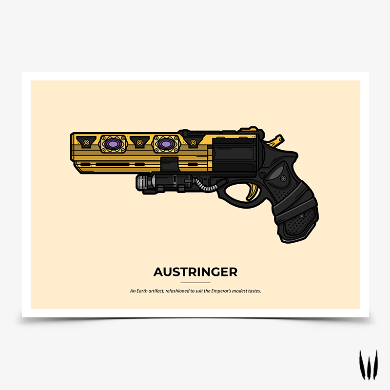 Austringer Gaming Poster | Destiny Gaming Posters | WildeThang Shop
